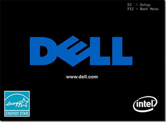 Dell boot menu