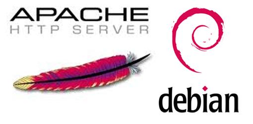como instalar apache en debian