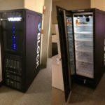 Linux server VBlock freezer refrigerador en rack VBlock funny and awesome rack