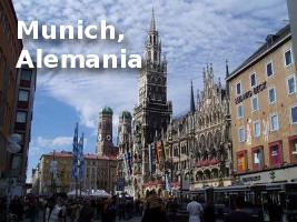 Ciudad de Munich - Alemania - usa linux