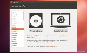 Como Instalar Ubuntu 12.04 - seleccionar idioma español