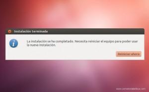 Como Instalar Ubuntu 12.04 Finalizando la instalacion