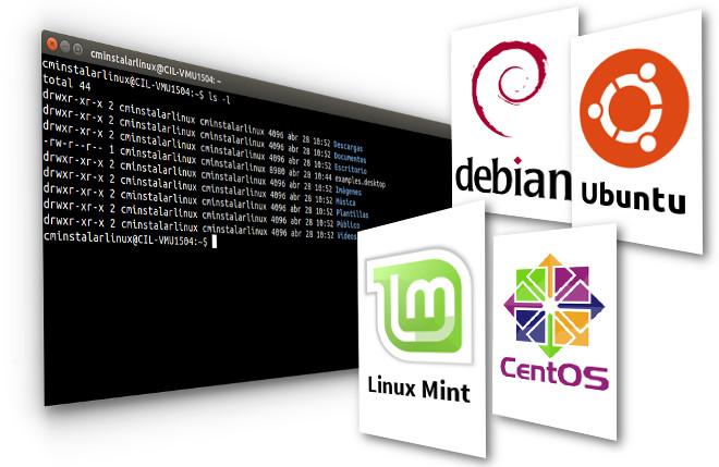 Como abrir una terminal en Ubuntu Linux Mint Centos Debian