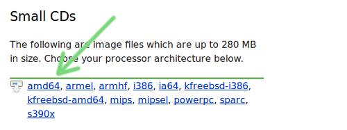 Instalar Debian como servidor