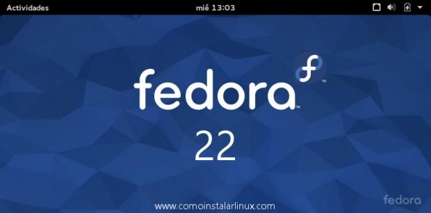 Fedora 22 listo para descargar e instalar como instalar linux