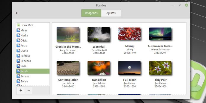 Linux Mint 19 desktop wallpapers all versions imagenes fondos de escritorio todas las versiones