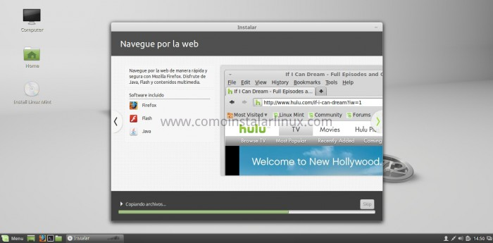 como instalar linux mint 17.2 rafaela terminar la instalación install download