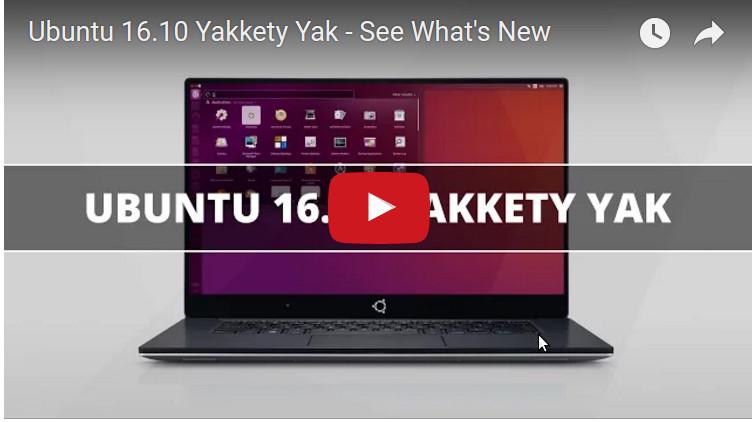 ubuntu 16.10 novedades y características de la versión video