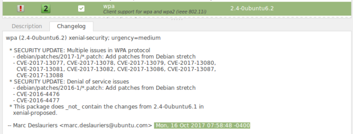 ubuntu update wpa2 linux mint  wifi bug error fixed