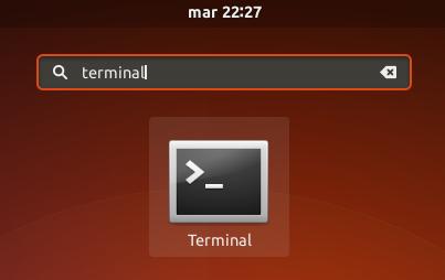 Ubuntu 17.10 terminal de comandos