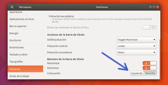 ubuntu 17.10 que hacer despues de instalar ubuntu 17.10 botones a la izquierda