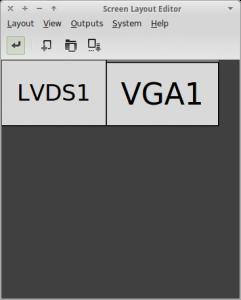 xfce configurar dos pantallas monitor extendido arandr configurar dos pantallas