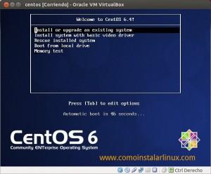 Como instalar Centos 6.4 - Inicio
