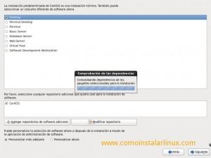 Como instalar Centos 6.4 - Comprobando paquetes