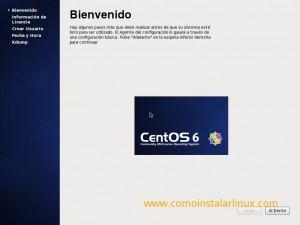 Como instalar Centos 6.4 - Configuración inicial