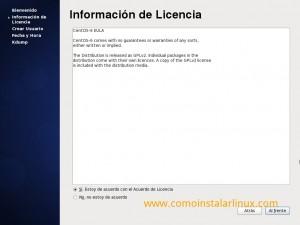 Como instalar Centos 6.4 - Licencia GPL