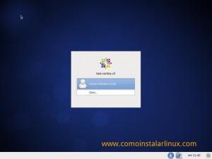 Como instalar Centos 6.4 - Ingreso al sistema instalado