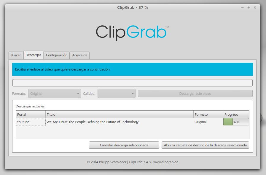 clipgrab como descargar videos youtube facil