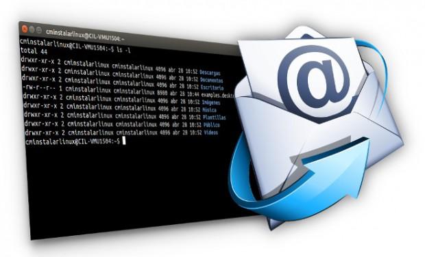 como enviar un email desde la termina o desde un script bash con swaks