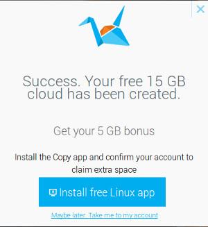 descargar cliente para linux de copy