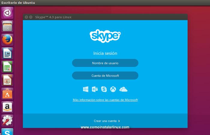 como instalar skype en ubuntu 15.10
