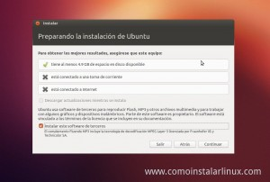Como Instalar Ubuntu 12.10 instalacion de codecs y actuaizaciones
