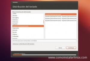 Como Instalar Ubuntu 12.10 idioma de teclado