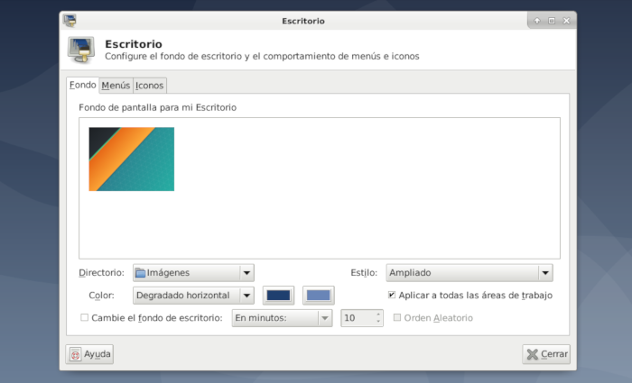 comoinstalarlinux.com cambiar el fondo de escritorio change desktop background change wallpaper