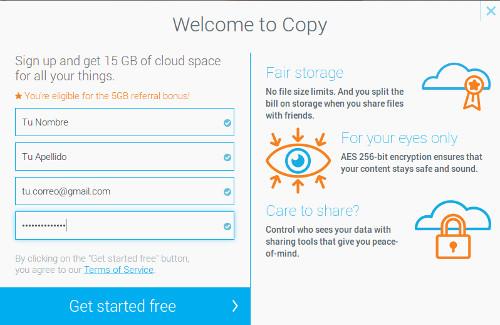 como instalar copy en ubuntu y linux mint registro