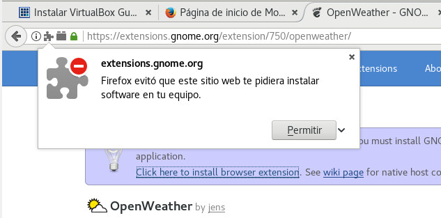 debian 9 install firefox gnome extensions control 03