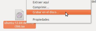 grabar tu cd un archivo iso en ubuntu linux mint
