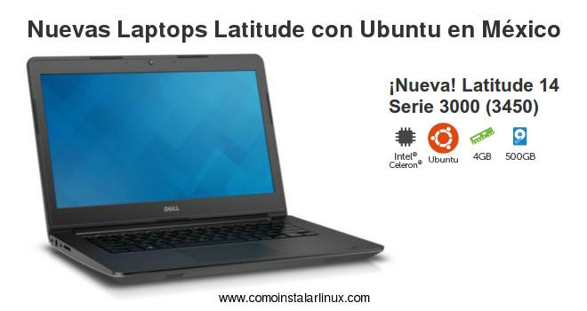 latops dell latitude con ubuntu en mexico