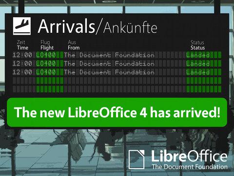 LibreOffice 4.0 listo para descargar
