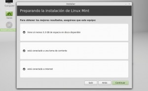 Instalar linux mint 13 Mint Requisitos para la instalación