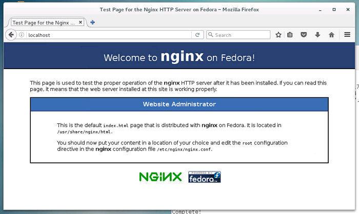 nginx install centos instalar servidor web LEMP