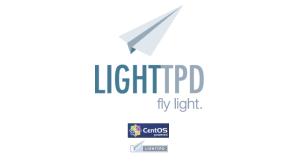 como instalar lighttpd en centos 7