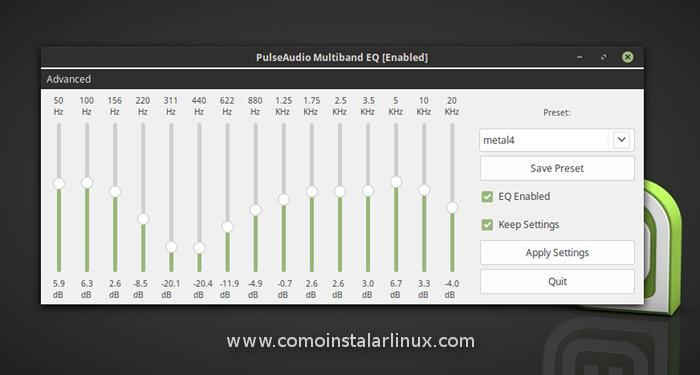 que hacer despues de instalar linux mint 18 sarah install pulseaudio-equalizer instalar un equalizador for linux en linux