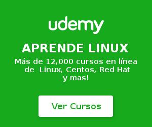 cursos linux en Udemy